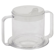 Lifestyle Essentials Lifestyle Handle Cup Clear