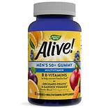 Nature's Way Alive! Men's 50+ Multi-Vitamin Gummies Fruit