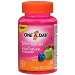 One A Day VitaCraves Teen Vitamins For Her Gummies Assorted