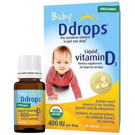 Vitamins drops for babies