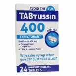 TABtussin 400 Expectorant Immediate Release Tablets