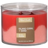 Patriot Candles Wave Candle Island Coral + Sand Red