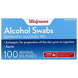 Walgreens Alcohol Prep Pads Sterile