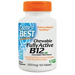 Doctor's Best QuickMelt Fully Active B12 1000mcg, Tablets