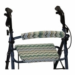 Nova Backrest and Seat Cover 14 Inch Blue Hues