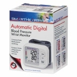 Veridian Healthcare SmartHeart Automatic Wrist Digital Blood Pressure Monitor White