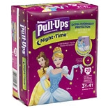 Huggies Pull-Ups Girls' Night Time Jumbo Diapers 3T-4T