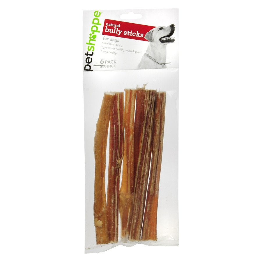 petshoppe all natural 6 inch bully sticks walgreens. Black Bedroom Furniture Sets. Home Design Ideas