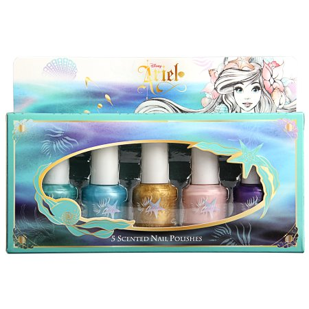 Disney Ariel Mini Nail Polish Set