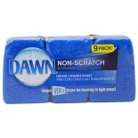 Dawn Non-Scratch Scrubber Sponges Blue