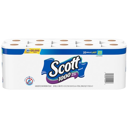 Scott 1000 Bath Tissue 20 pk
