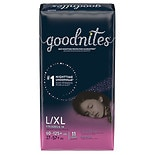 Goodnites Girls' Jumbo Diapers L/XL