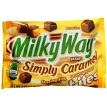 Milky Way Unwrapped Shareable Bite Size  Candy Caramel