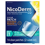 Nicoderm CQ Patch 14 ct Clear 21 mg Clear