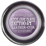 Maybelline Color Tattoo 24Hr Leather by EyeStudio Cream Gel Eyeshadow Vintage Plum