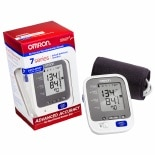 Omron 7 Series Upper Arm Blood Pressure Monitor, Model BP760N Cuff that fits Standard and Large Arms
