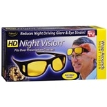 HD Vision Night Lenses Black