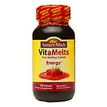 Nature Made VitaMelts Energy Vitamin B-12 1500mcg, Tablets Mixed Berry