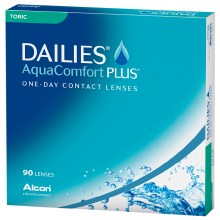 wag-Dailies AquaComfort Plus Toric 90 pack Contact Lens
