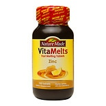 Nature Made VitaMelts Zinc 15mg, Tablets Honey Lemon