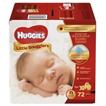 Huggies Little Snugglers Diapers, Big Pack Newborn