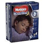 Huggies Overnites Diapers Size 5