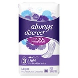 Always Discreet Incontinence Liners, Ultra Thin Regular