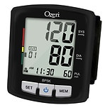 Ozeri BP5K Voice-Guided Blood Pressure Monitor with Smart Hypertension Indicator Black