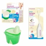 Clevamama Infant Formula Feeding Unisex Pack 3 Pc