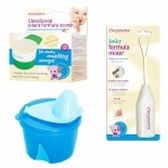 Clevamama Infant Formula Feeding Boy Pack 3 Pc