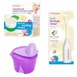 Clevamama Infant Formula Feeding Girl Pack 3 Pc