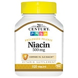 21st Century Niacin 500mg, Prolonged Release, Tablets