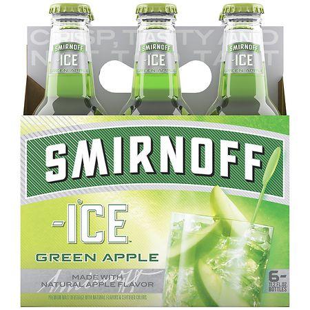 smirnoff ice malt beverage green apple bite walgreens