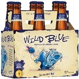 Wild Blue Beer 12 oz. Bottles