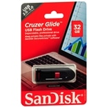 SanDisk Cruzer Glide USB 32GB Flash Drive