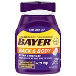 Bayer Back & Body Extra Strength Coated Caplets