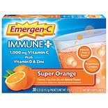Emergen-C Immune+ Dietary Supplement Super Orange