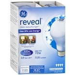 GE Reveal Halogen Bulb 72 Watt