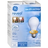 GE Reveal halogen Bulb 43 Watt