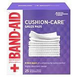 Band-Aid First Aid Gauze Pads Small (2 Inch x 2 Inch)
