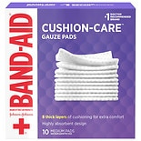 Band-Aid First Aid Gauze Pads Medium (3 Inch x 3 Inch)