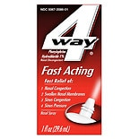 4-Way Fast Acting Nasal Spray