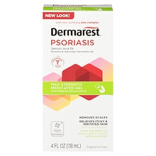Psoriasis Medicated Skin Treatment Gel