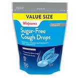 Walgreens Cough Drops, Sugar Free Eucalyptus