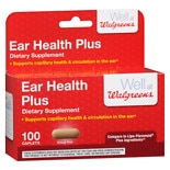 Walgreens Ear Health Plus Tablets