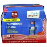 Walgreens Nutritional Plus Shake Strawberry Cream