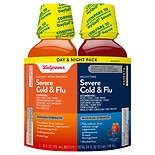 Walgreens Daytime & Nighttime Severe Cold & Flu Liquid Berry