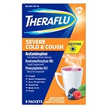 TheraFlu Severe Cold & Cough Daytime Berry with Menthol & Green Tea