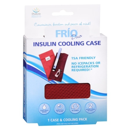 Apothecary Frio Insulin Cooling Case Red
