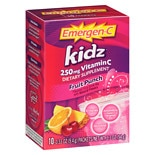 Emergen-C Kidz Vitamin C, 250mg Packets Fruit Punch